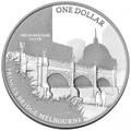 2011 Melbourne ANDA – Princes Bridge Coin- $1 Silver Frunc         SOLD OUT