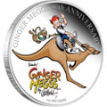 GINGER MEGGS 90TH ANNIVERSARY 2011 1OZ SILVER PROOF COIN