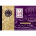 2006 50c Royal Visit Coin and Stamp Folder