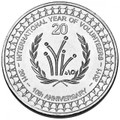 2011 20c International Year of the Volunteer Rolled Coin (20 Coins per Roll)