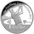 2011 The Presidents Cup-$1 Fine Silver Proof Coin