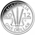 2012 Wheat Sheaf Dollar - $1 Silver Proof C Mintmark
