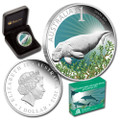 2012 PERTH ANDA - CELEBRATE AUSTRALIA - SHARK BAY 1OZ SILVER PROOF COIN