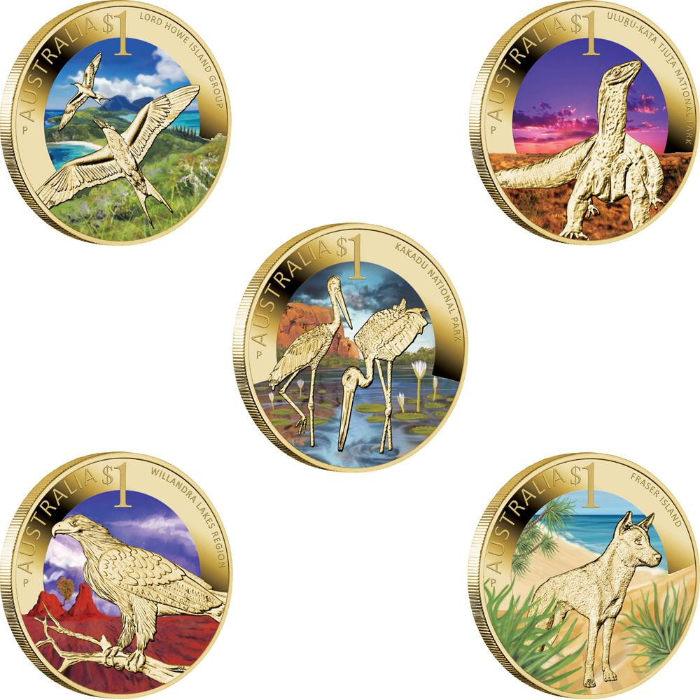 world heritage collection coins