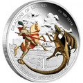 Dragons of Legend - 2012 St. George and The Dragon 1oz Silver Proof Coin
