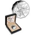 2012 50C Fine Silver Proof Coin - 50th Anniversary of the Australian Ballet