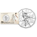 2012 50C Uncirculated Coin - 50th Anniversary of the Australian Ballet