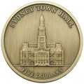 2012 ANDA Special Release – $5 Antique Uncirculated Coin – Sydney City Hall