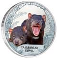 Tuvalu 2013 $1 Tasmanian Devil 1oz Silver Proof