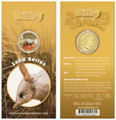 2009 $1 Frosted Uncirculated Pad Printed Coin: Bilby