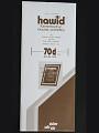 Hawid Stamp Mounts: 25 Strips 70mm x 210mm