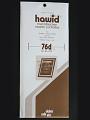 Hawid Stamp Mounts: 25 Strips 76mm x 210mm