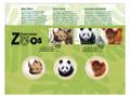 2012 Australian Zoos Panda, Rhino & Orangutan Stamp and Medallion Cover