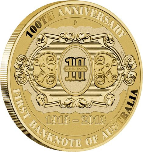 2013 100th ANNIVERSARY AUSTRALIA/'S FIRST BANKNOTE Silver Proof Coin /& Stamp Set