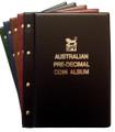 VST AUSTRALIAN PRE-DECIMAL 1910-1964 COIN ALBUM with Mintages