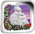 2013 $1 Australian Seasons – Spring 1oz Silver Proof