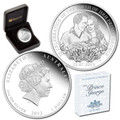 2013 $1 Royal Baby 1oz Silver Proof