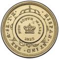 2013 Brisbane Ekka Show: B Counterstamp $1 Coin