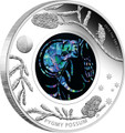 2013 $1 Opal Possum 1oz Silver Proof