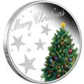2013 50c Christmas 1/2oz Silver Proof