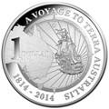 2014 $1 Terra Australis Flinders Silver Proof