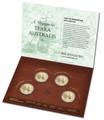 2014 $1 Terra Australis Mintmark Pack (4) BU