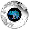 2014 $1 Tasmanian Devil Opal 1oz Silver Proof