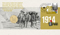 2014 RAM  $1 WWI Centenary PNC