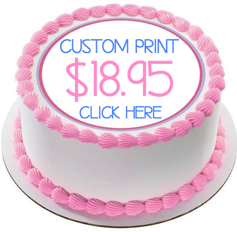 photograph regarding Edible Printable Paper known as Edible cake topper printing Edible ink resources, frosting