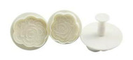 Contemporary Rose Plunger Cutter Set 3pc