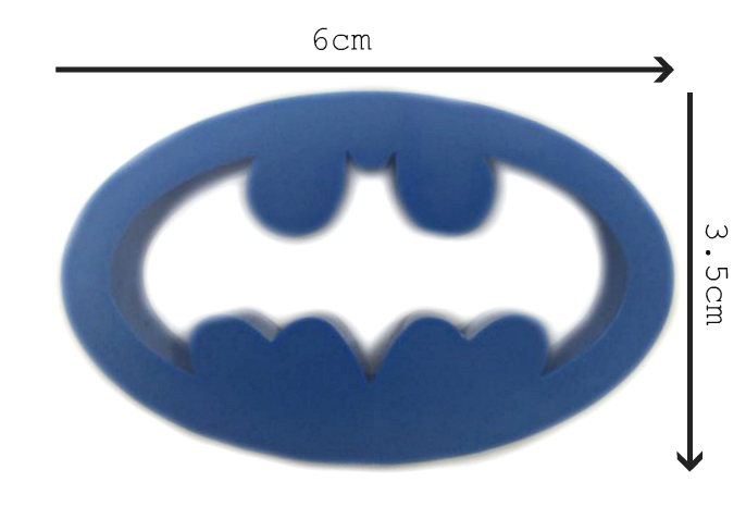 Batman Logo Fondantcookie Cutter Small