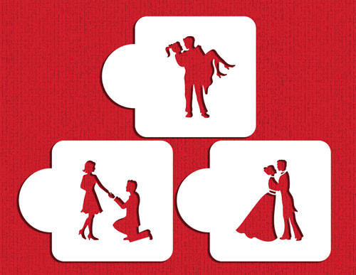 Stages of Love Silhouette Set C934