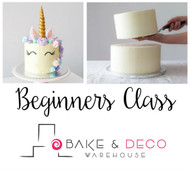 Beginners Cake Decorating Class FEBRUARY 2019