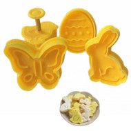 Easter Plunger Cuter 4pc Set