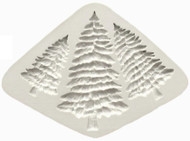 Pine Trees 3pc Silicone Mould
