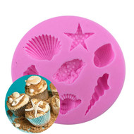7pc Assorted Shells Silicone Mould