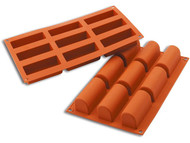 Trunk / Log 9 Cavity Silicone Mould