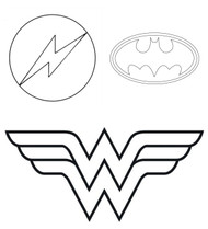 Superhero Logo Tin Plate Cutters