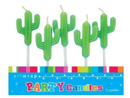 Cactus Candles 5pk