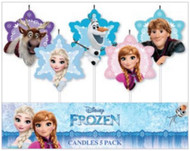 Frozen 5pc Candle Set