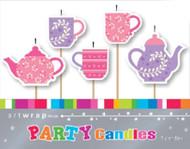 Tea Party 5pc Candle Set
