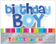 Birthday Boy Party Candle