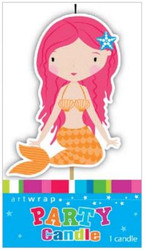 Mermaid Party Candle