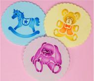 Teddy, Horse & Bunny C782