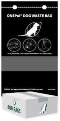 800 Single Pull Pet Waste Dog Poop Bags for Mitt Header Dispensers - (Parks, HOA, KOA, Condo, BULK)