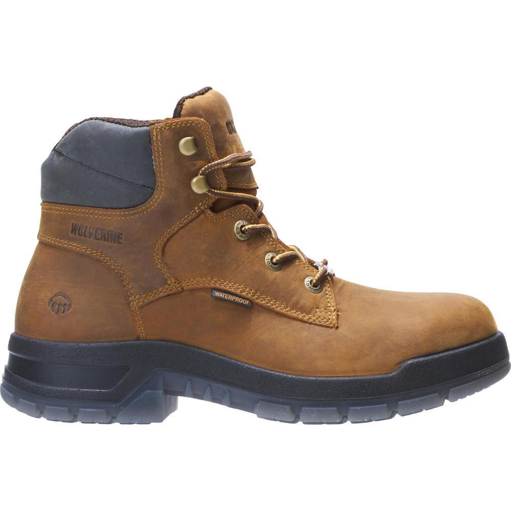 cda9b69eb65 Rampart's 190019 6 Inch Tan Waterproof Soft Toe Boot