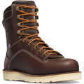 Danner Quarry USA Brown Waterproof Wedge Sole Safety Toe Boot - 17329