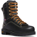 Danner Quarry USA Men's Black Waterproof Safety Toe Boot- 17311