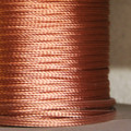 "1/4"" Tubular Bare Copper Braid"