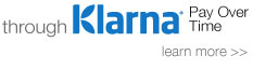 Financing Available through Klarna today!